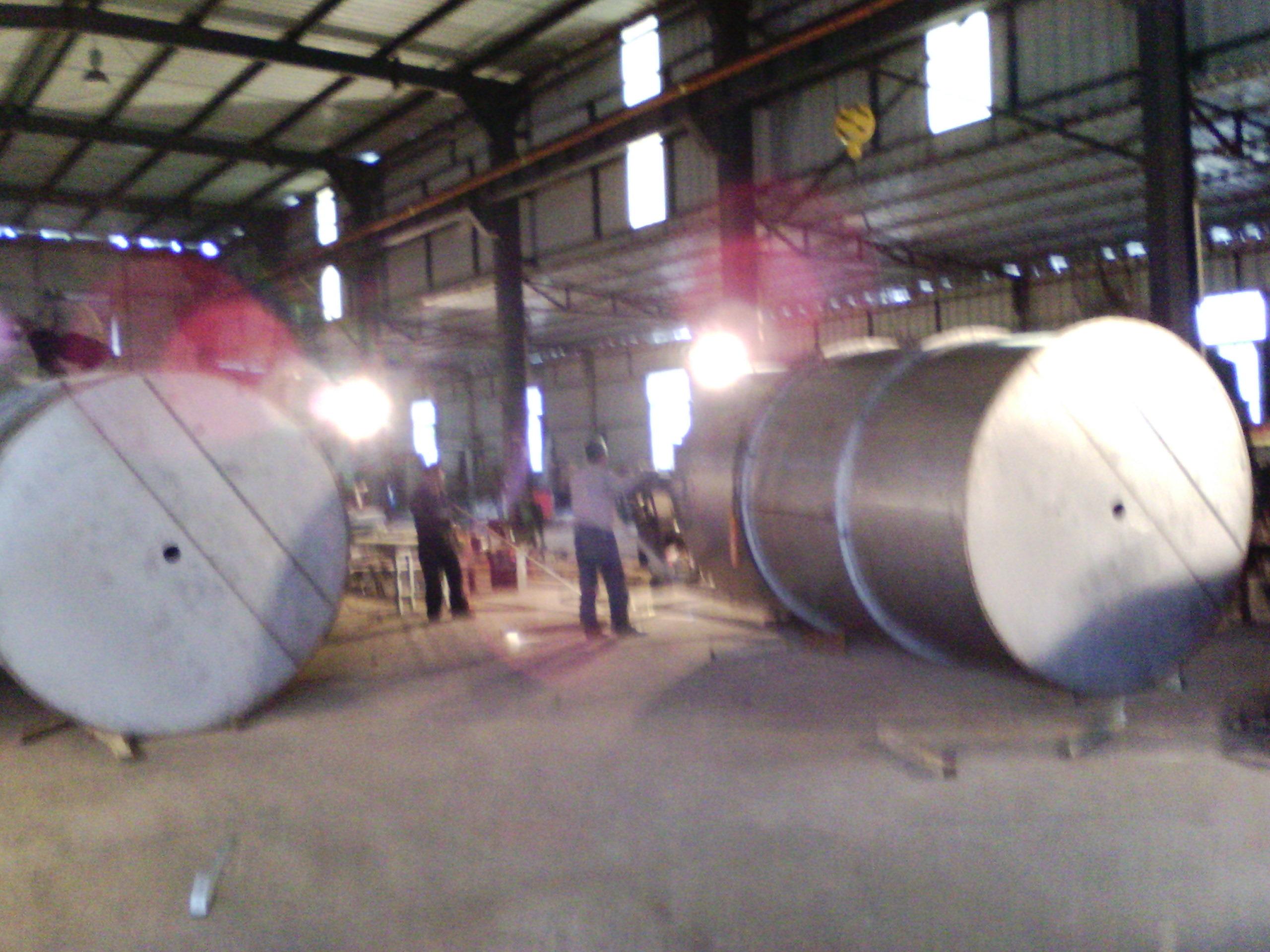 钢结构厂房设备安装1
