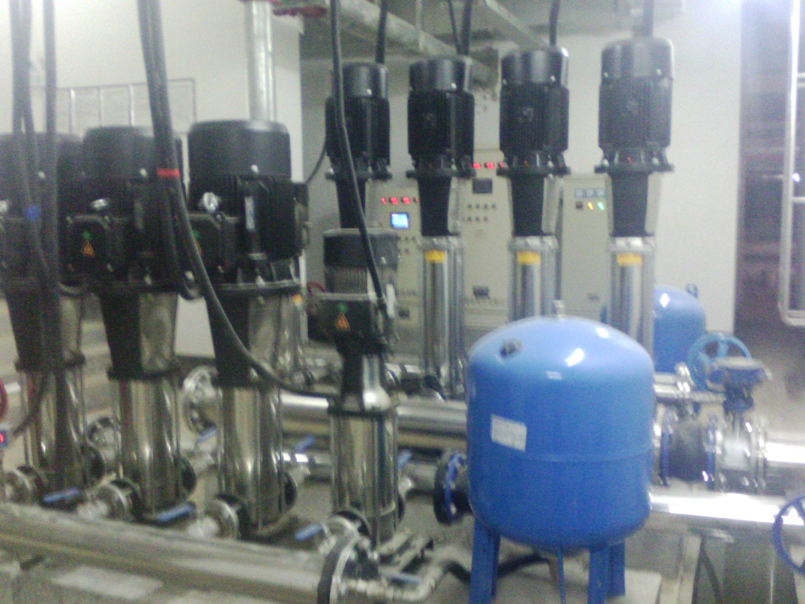 变频供水设备安装1