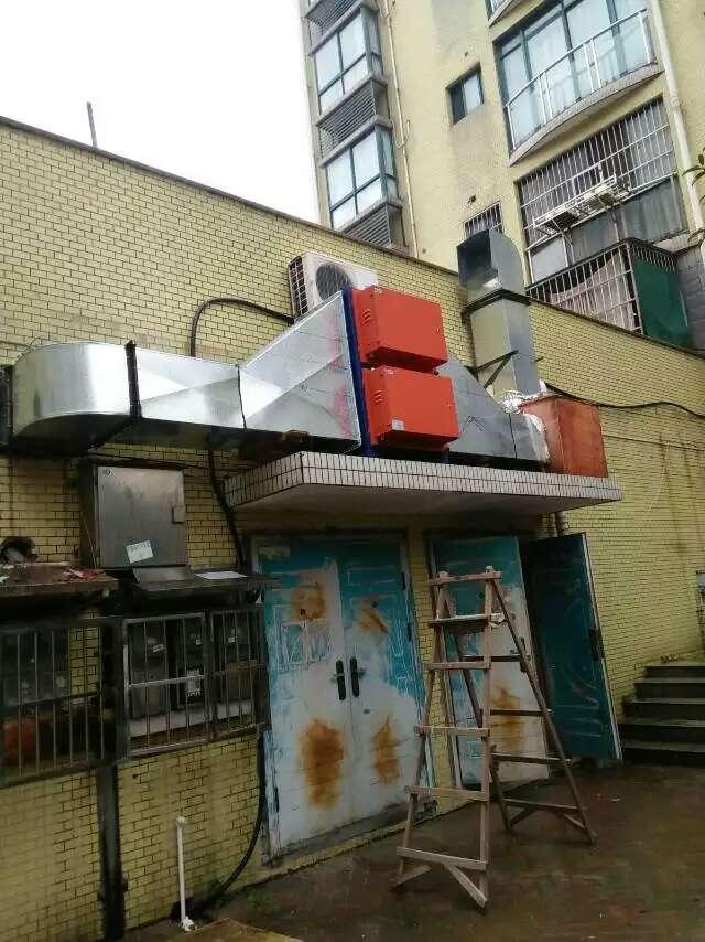 厨房排烟净化工程1